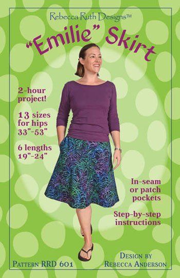 Emilie Skirt - Pattern to create Swing-Style Skirt
