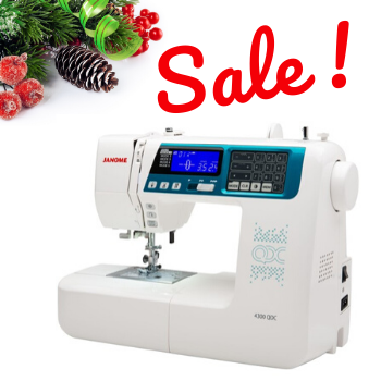 SALE!  Janome 4300 QDC Sewing & Quilting Machine