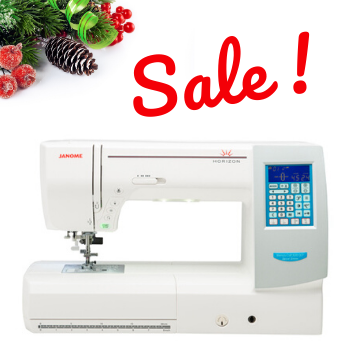 SALE!  Horizon Memory Craft 8200 QCP Special Edition Sewing Quilting Machine