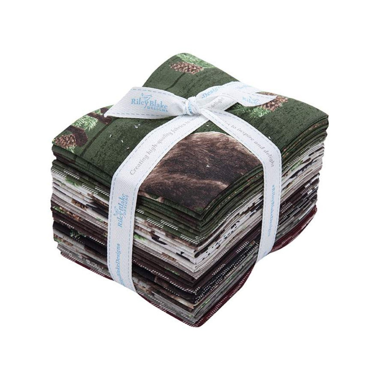 Send Me To The Woods Fat Quarter Bundle 21 pieces - by Riley Blake FQ-9270-21