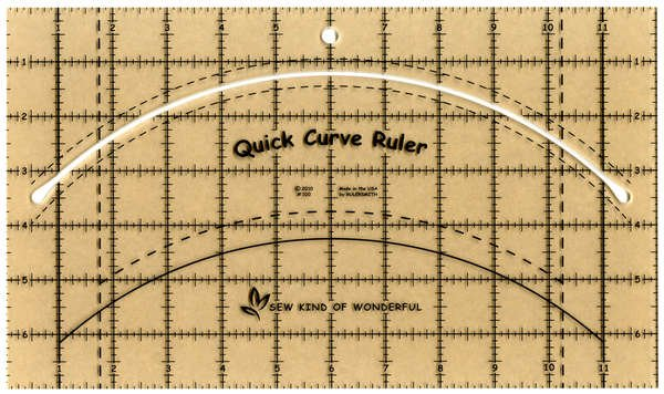 Ruler - Quick Curve Ruler by Sew Kind of Wonderful
