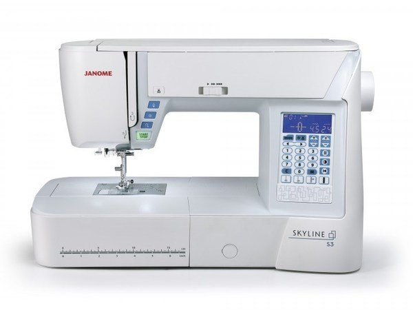 Janome Skyline S3: Computerized Machine 120 stitches