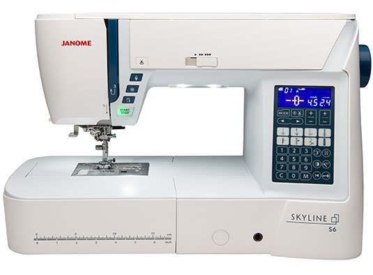 Janome Skyline S6: Computerized Machine 196 stitches