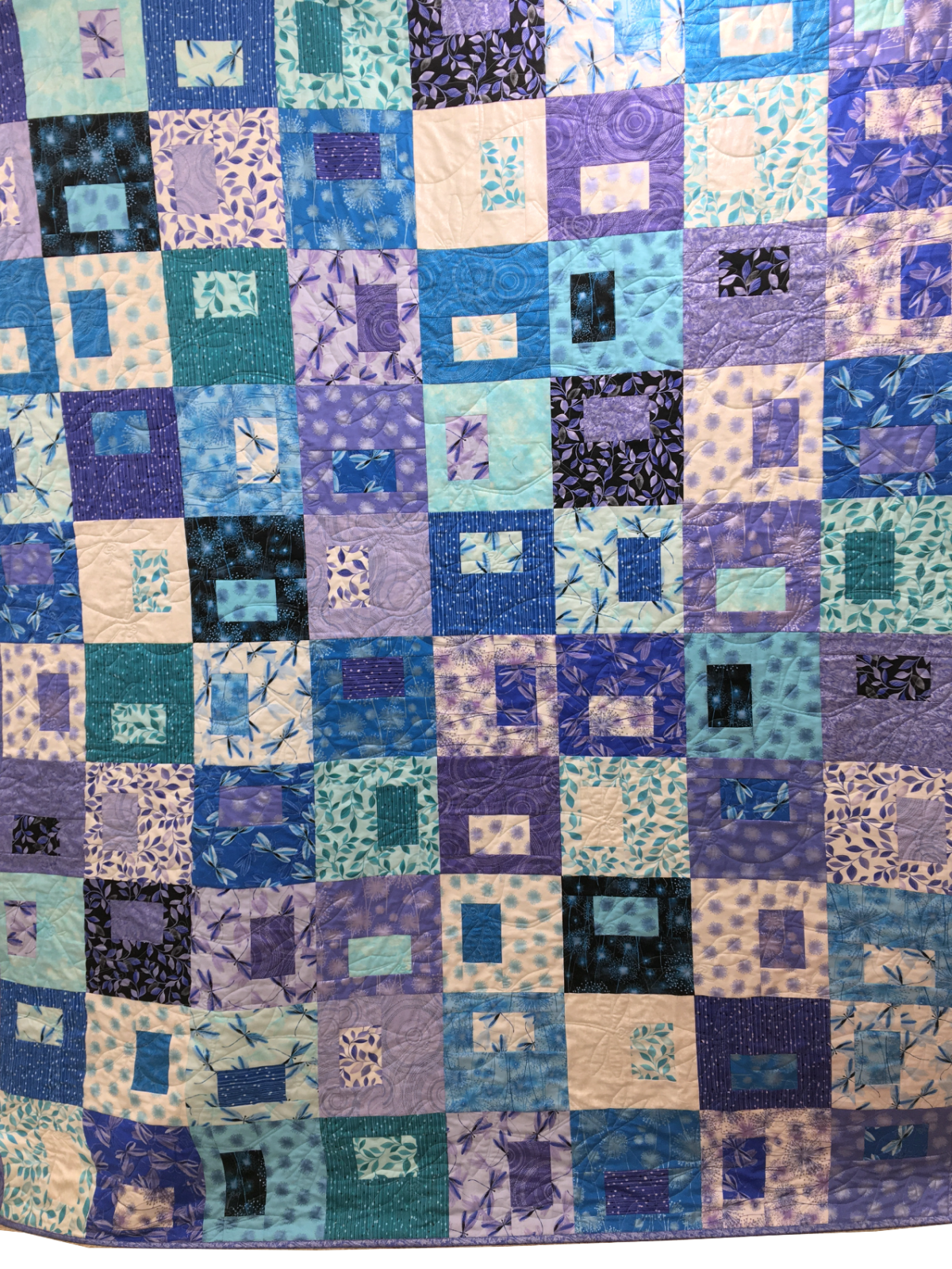 Quilt Kit: Snapshots featuring Pearl Reflections fabrics