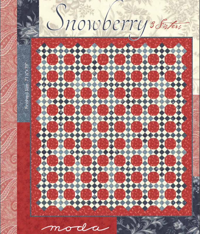 Free Pattern:  Snowberry by 3 Sisters for Moda