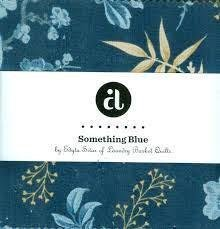 Andover - Something Blue Charm Pack 5x5 pack of assorted fabrics