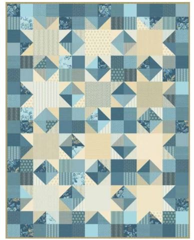 Free Pattern: Ring Bearer featuring Something Blue by Laundry Basket Quilts for Andover