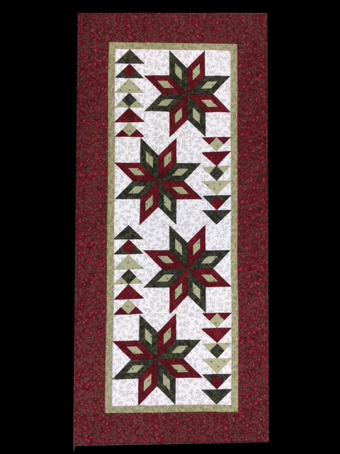 For Sale: Star Bright Table Runner featuring Once Upon A Memory Fabric by Holly Talor