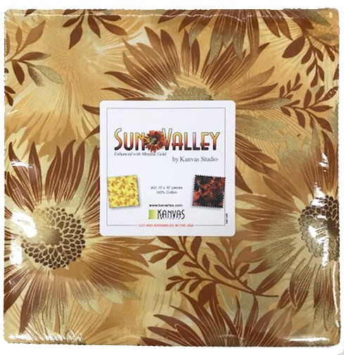 Kanvas Sun Valley | 10 x 10 pack of 42 assorted squares