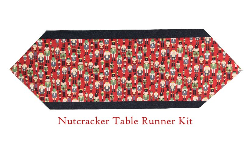 Ten Minute Table Runner Kit - Nutcracker