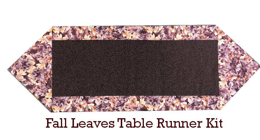 Ten Minute Table Runner Kit - Fall Leaves