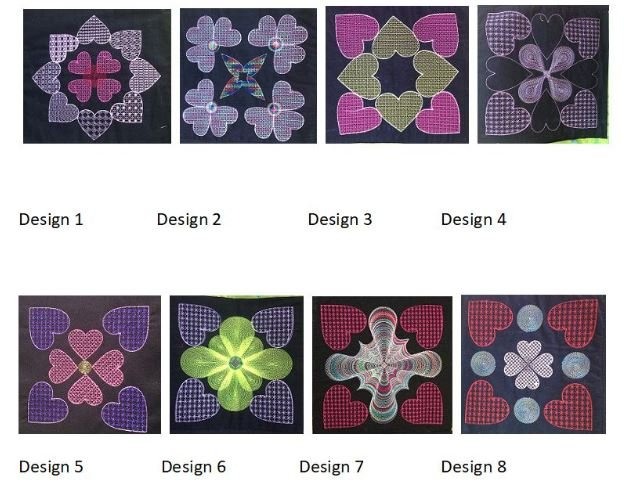 Embroidery CD - Quilting The Thread Art Way - Hearts and More