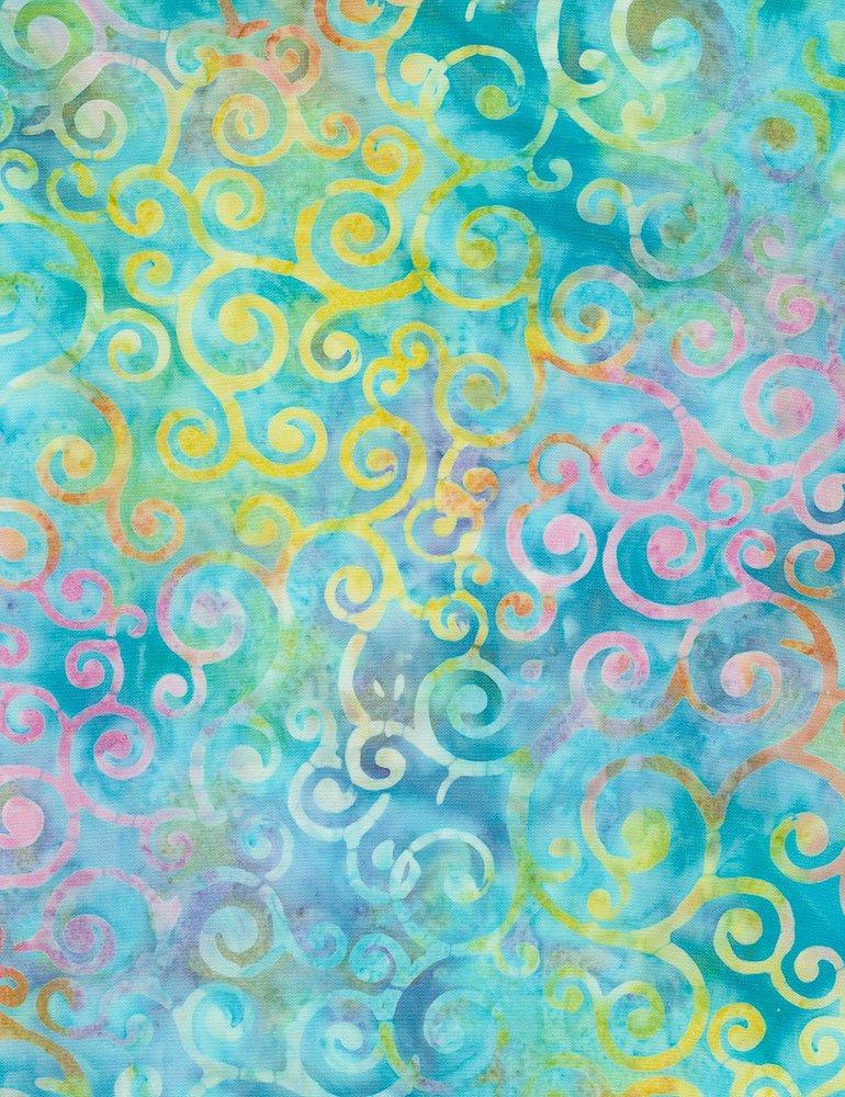 Timeless Treasures | Tonga Batik B7547 Escape - Whirls