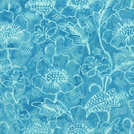 Timeless Treasures Mystical Tonga Batik |Fiji - Poppies B5672