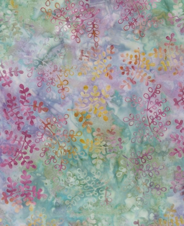 Timeless Treasures Tonga Batik B7515 Muse - Speckled Flowers