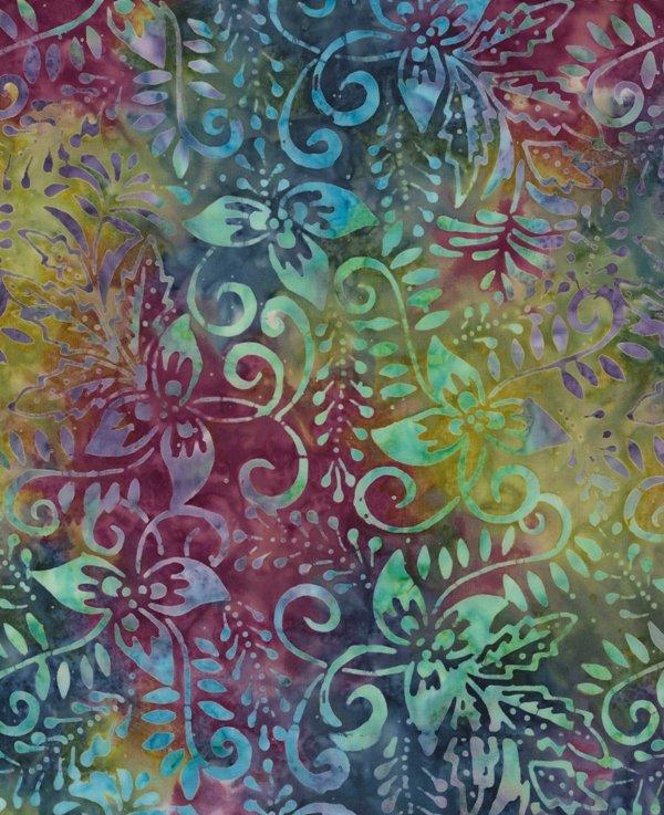 Timeless Treasures Tonga Batik B7519 Dahlia - Tropic Sun