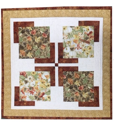 Touch of Fall:  Kit to Make Wall Hanging / Table Topper