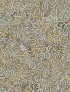 Timeless Treasures Tonga Batik Pebble - B6982 Patina - Curls