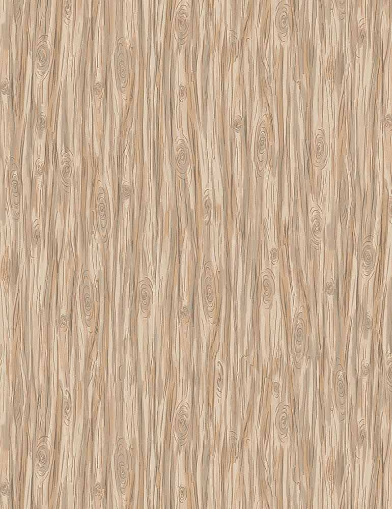 Timeless Treasures Snow Day C7559 Tan - Wood Grain