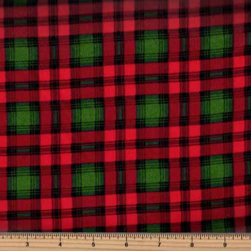 Timeless Treasures Tailor Flannel - CF5333 Holiday Preppy Plaid