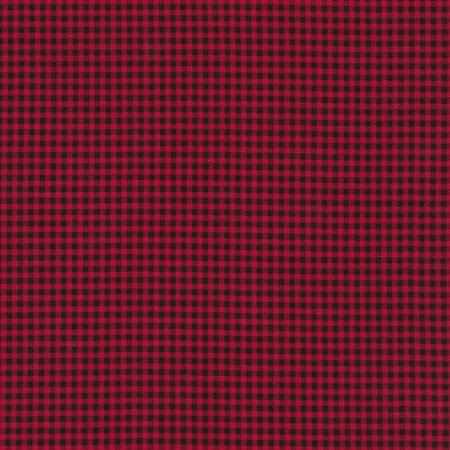Timeless Treasures Check C7065 - Red Mini Check