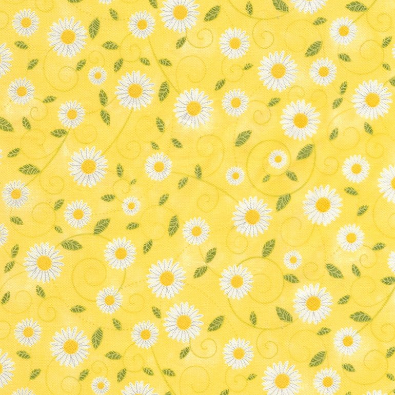 Timeless Treasures You Are My Sunshine | Daisy Vines C5498 Yellow