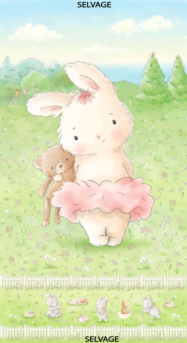 Timeless: Friendship Blossoms 24 Panel: Bunny and Her Bear