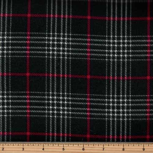 Timeless Treasures Tailor Flannel - CF5329 Hunter Glen Plaid