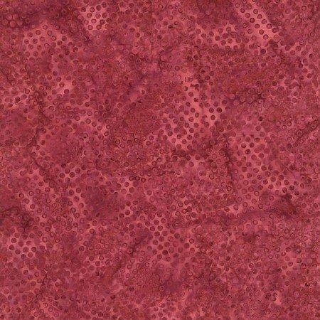 Timeless Treasures LUSH Tonga Batiks B3942 Merlot Caviar
