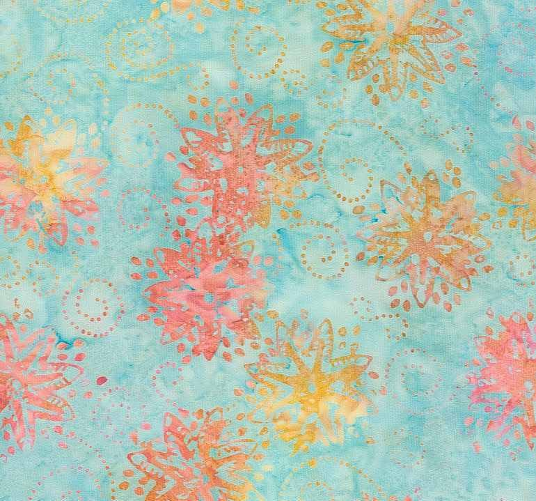 Tonga Batik B6169 Surf-  Pinwheel by Timeless Treasures