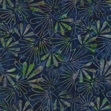 Timeless Treasures LUSH Tonga Batiks B6202 Royal Tiki Batik
