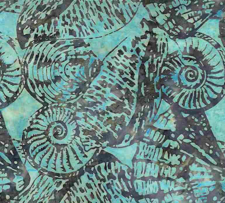 Tonga Batik B7664 Shore - Snails by Timeless Treasures