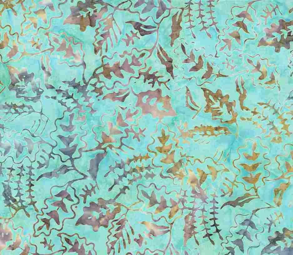 Tonga Batik B7671 Island - Mixed Foliage by Timeless Treasures