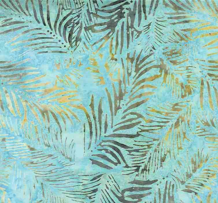 Tonga Batik B7915 Coast- Fern Bristles by Timeless Treasures