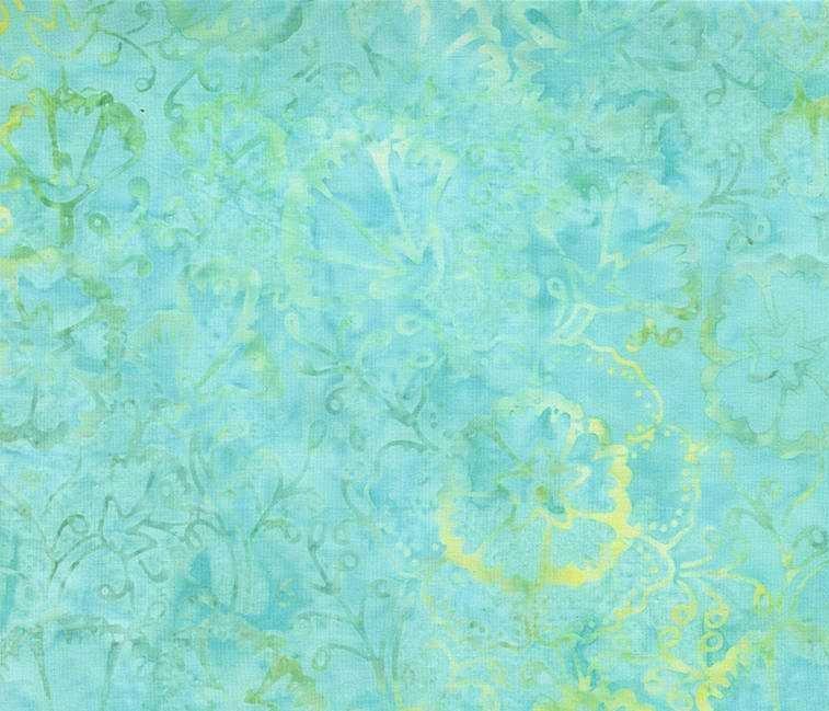 Tonga Batik B7160 Surf- Spring Floral by Timeless Treasures