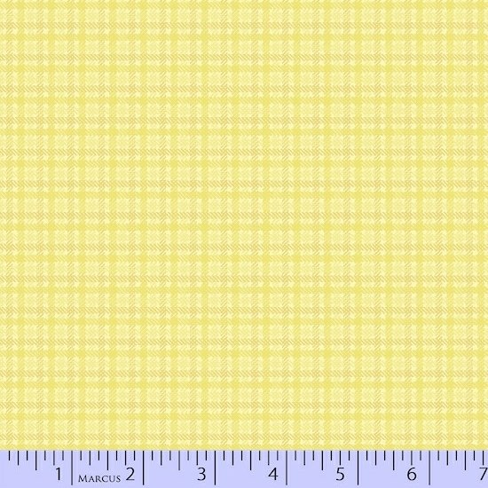 Marcus Sew Sweet Flannel U058-0133 Yellow - by Sarah J Maxwell / Primo Plaid