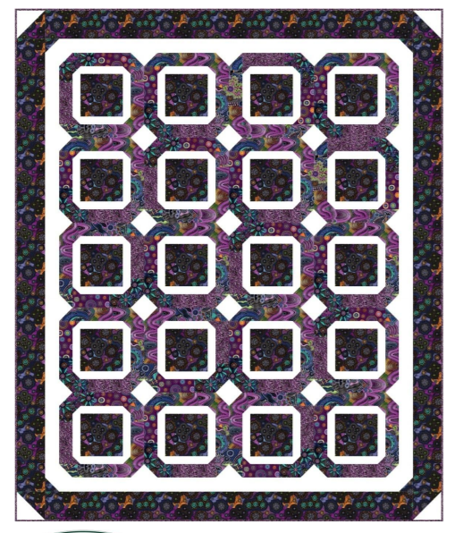 Free Pattern:  Walkabout II Quilt by Hedgehog Quilts for Paintbrush Studio