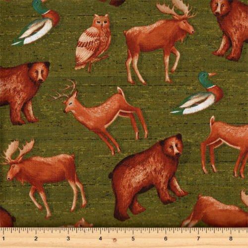 Windham Fabrics Wild Woods 41120