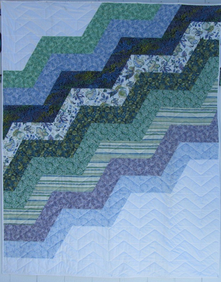 Quilt for Sale:  Wiley's Way 64 x 78