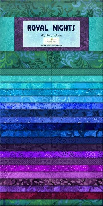Wilmington Essential Gems Strip Pack: Royal Nights - 40 Karat Gems 802 28 842