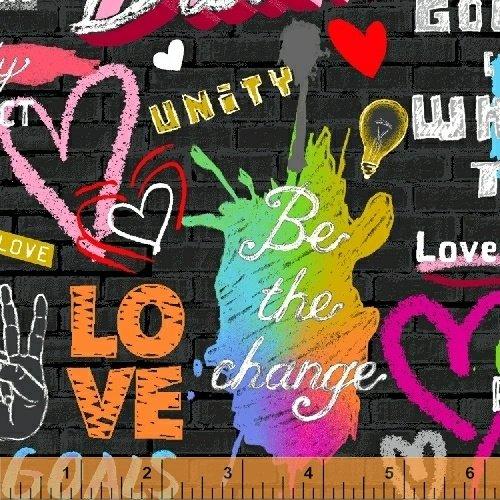 Windham- Unstoppable 51502-1 Uplifting Sreet Graffiti
