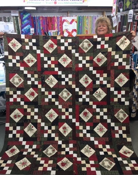 Moda - Winter Manor Quilt Kit by Holly Taylor for Moda Fabrics