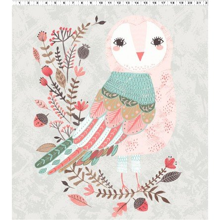 Clothworks- Forest Owl Y2312-61