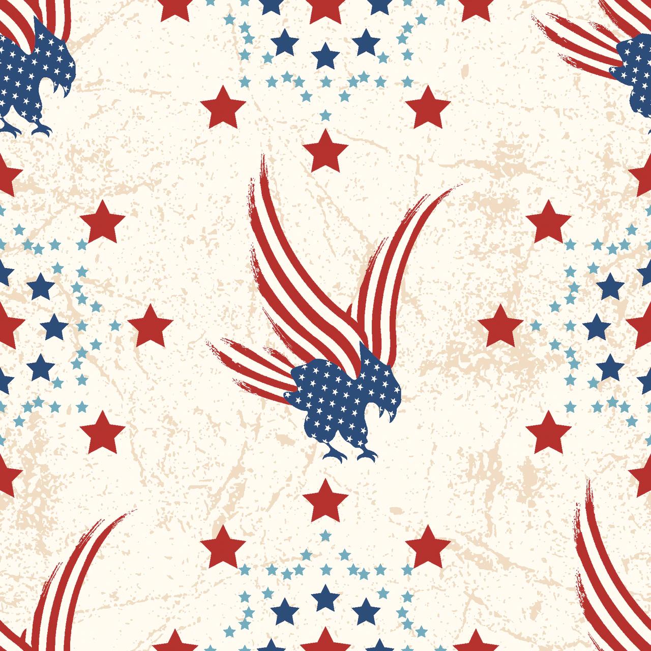 STARS of VALOR -Eagle Flag