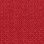 Crimson Red Filagree Geo