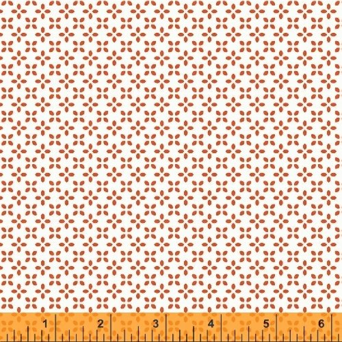 UPPERCASE Orange Butterfly Floral