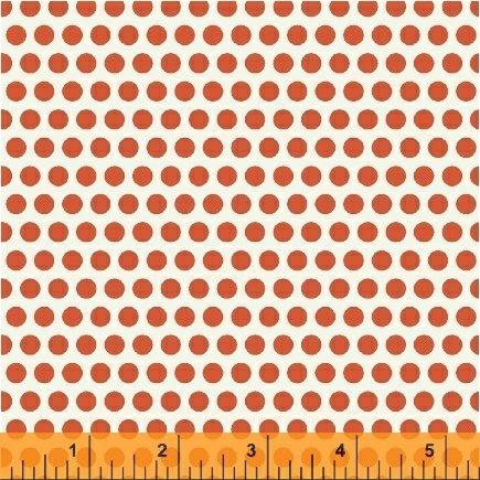 UPPERCASE Orange Dotty