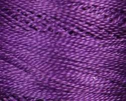 Pearl Cotton Skein Size 5 Medium Violet