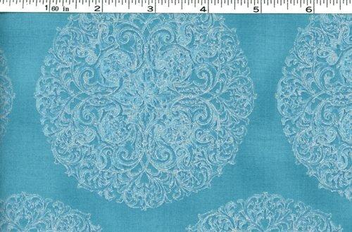 Hoffman Fabrics  L7284-7S-Blue-Silver