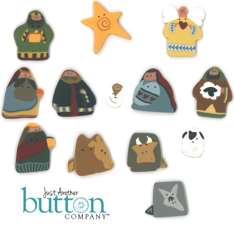 Just Another Button Company - Merry Christmas Stitchery Quilt